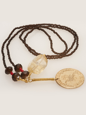 Golden Coin Necklace