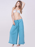 Blue Pareo Pants