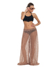 Tan Wide Leg Cover-up