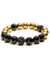 Golden Black Mix Bead