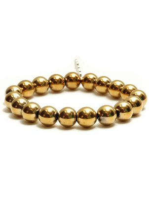 Golden Glass Bracelet
