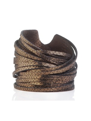 Bracelet - Bronze Leather