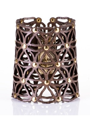 Cuff - Lace Leather