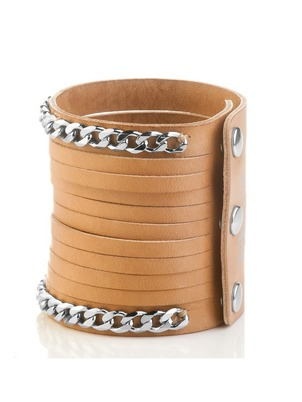 Bracelet - Chain Leather