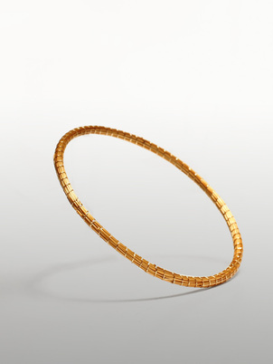 Handmade Golden Bangle