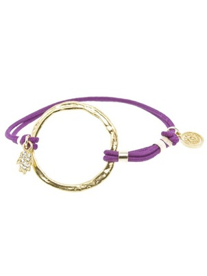 Karma Purple Bracelet