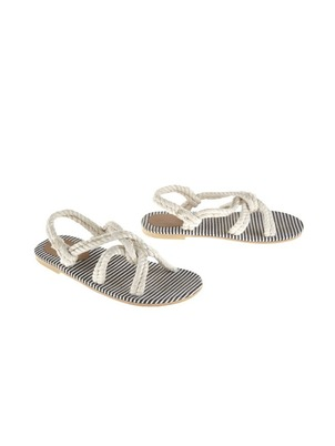 Rivera Cruise White and Blue Sandals