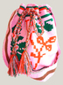 Pink and Orange Mochila