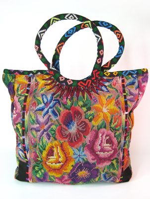 Floral Shopping Tote