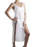 Long White Coverup Dress