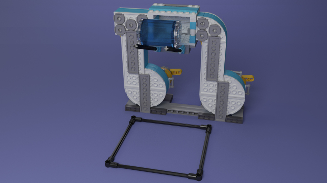 FIRST LEGO League Hydrodynamics Flow Mission Model