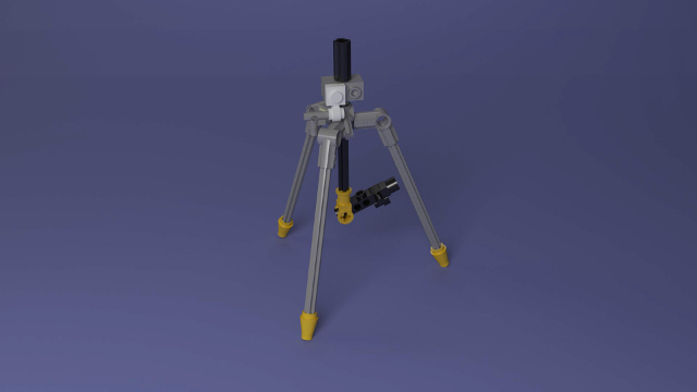 FIRST LEGO League Hydrodynamics Tripod Mission Model