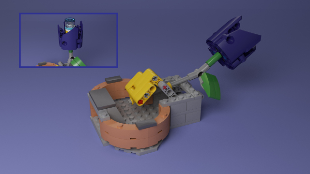 FIRST LEGO League Hydrodynamics Flower Bonus Mission Model