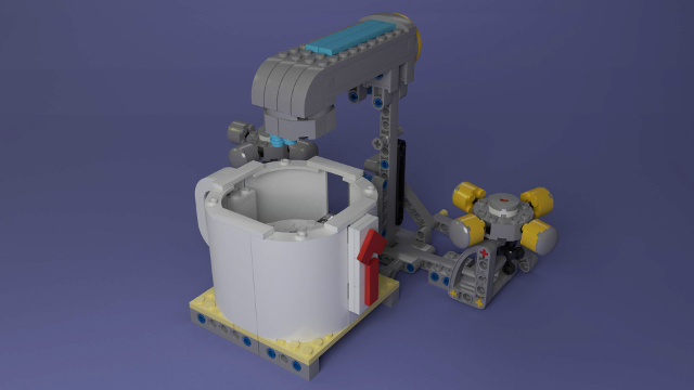 FIRST LEGO League Hydrodynamics Faucet Mission Model