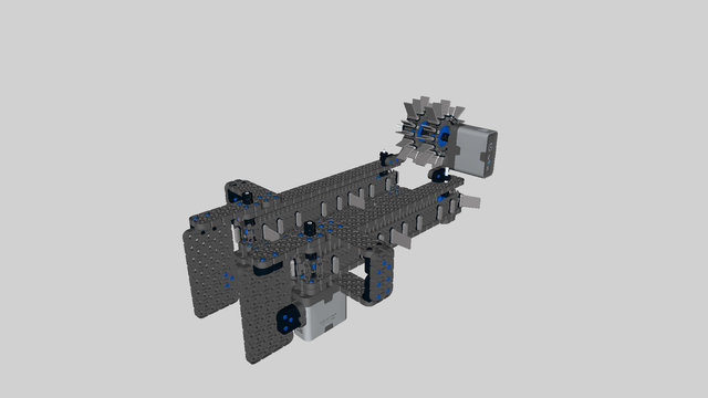 Image for Cube Collector Attachment for VEX Robot Base 1