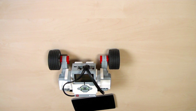 Image for EV3 Phi. Teacher's Note: Camera on wheels course section