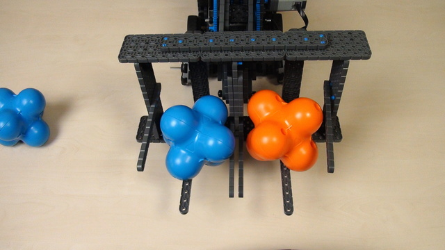 Image for VEX IQ Crossover. Adding the two degrees attachment to a robot base