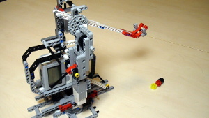 Image for LEGO Mindstorms Catapult Motor and Touch Sensor