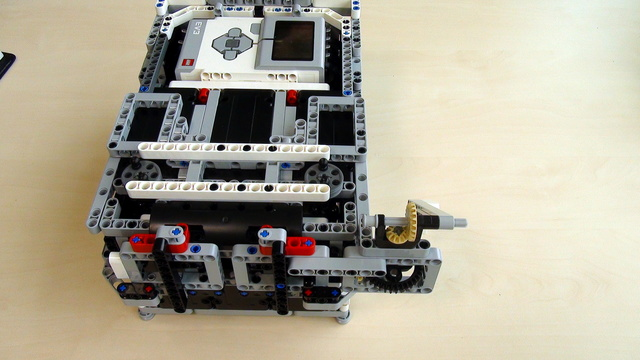 Image for Attachments for Box Robot for Robotics Competitions. Lifting heavy elements with an Active Attachment
