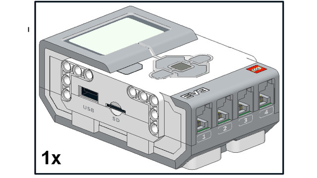 Image for EV3 Phi. Introduction to EV3 Controller - the LEGO Mindstorms EV3 brick