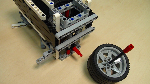 Preview for Physics in LEGO Mindstorms: Energy Accumulation and Conservation. Part 4 - experiment for energy in Joules