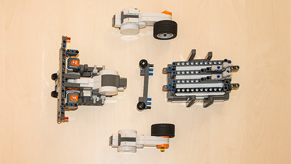 How to build a LEGO Mindstorms Competition Robot