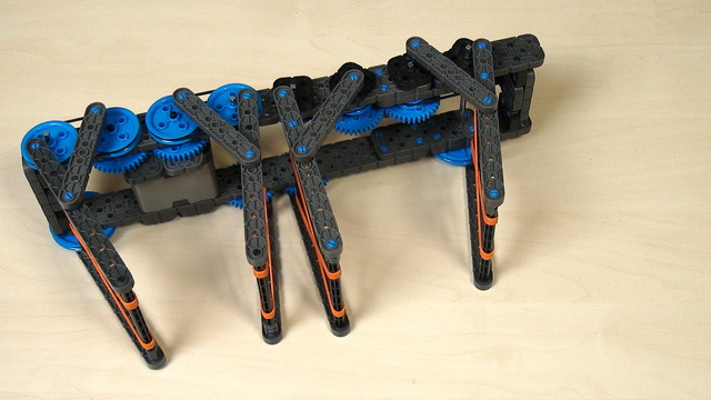 Image for VEX IQ Crossover. Using belts to transfer motion