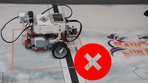 Image for Wrong LEGO Mindstorms robot positioning without sensors (part 2)