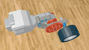 Image for Simple Gear System for LEGO Mindstorms Robot