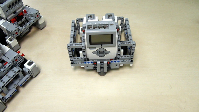 Image for Robot Design Ideas for Chassis with Mindstorms EV3. Base Chassis 3
