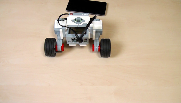Image for EV3 Phi. Camera on wheels. Course section Intro