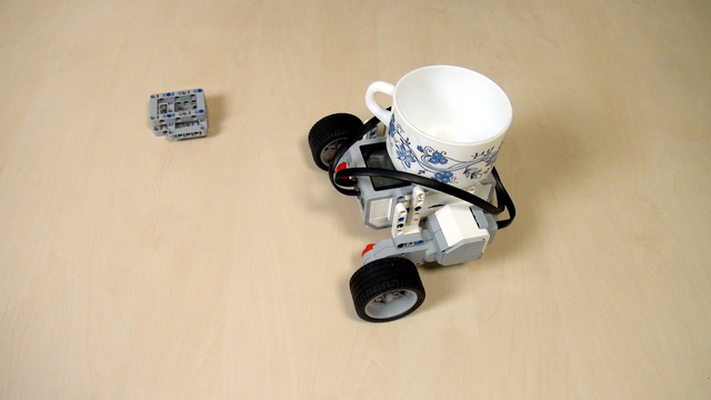 EV3 Phi. Make the robot consider cargo. Inertia & Acceleration