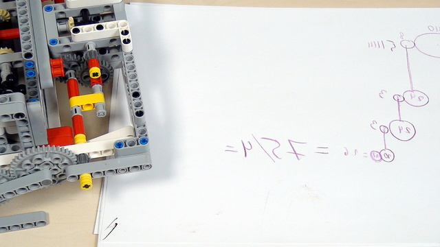 Image for Improving FLL Robot Game. Teacher's Note. Calculating gear rotations