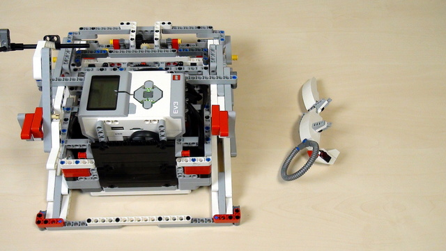 Image for Improving FLL Robot Game. Teacher Note. The robot base for lifting