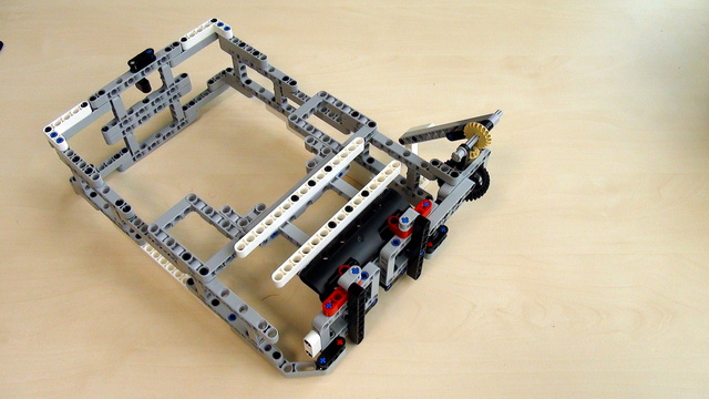 Preview for Attachments for Box Robot for Robotics Competitions. Third way for adding Active attachment