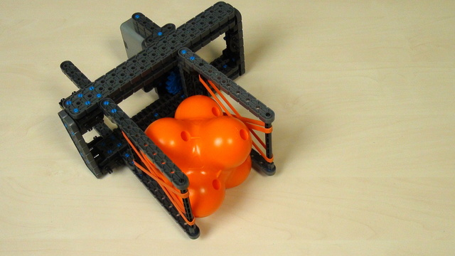 VEX IQ Crossover. Task. Grab a hex ball with our attachment and with your attachment
