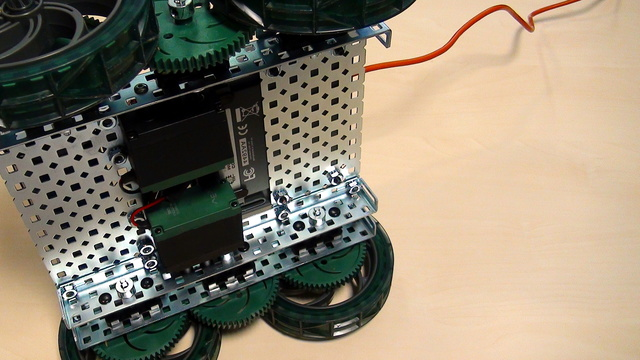 Image for VEX EDR Intro. Move backward. Set the VEX motors with minus power