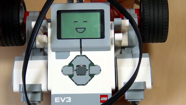 Image for EV3 Phi. Display block as a last block in an EV3-G software program
