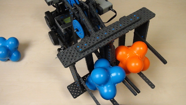 Image for VEX IQ Crossover. Task. Build the two degrees of freedom attachment