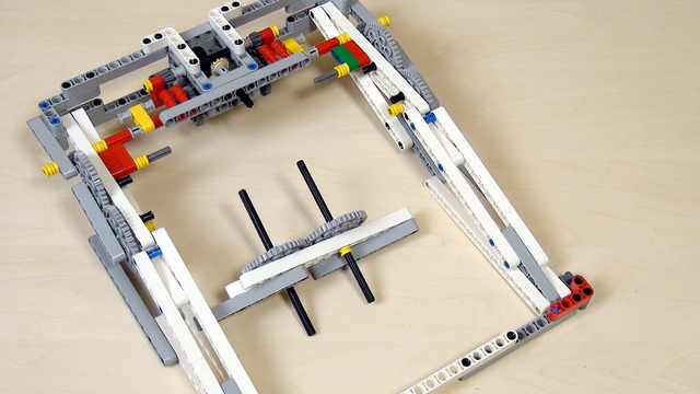 Image for Improving FLL Robot Game. Task. Drive the mechanism. Change Gears orientation