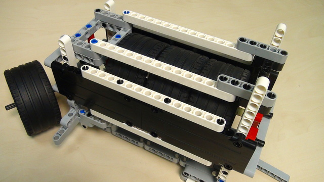 Image for Physics in LEGO Mindstorms: Energy Accumulation and Conservation. Part 3 - angular velocity