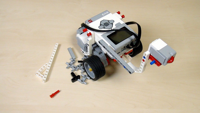 Image for EV3 Phi. Teacher's Note. Add a touch sensor without instructions