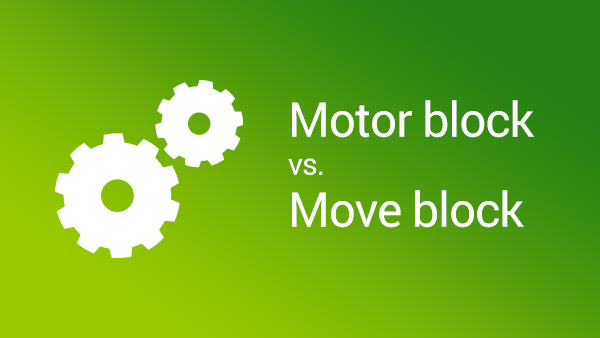 Image for Motor Block vs. Move Block in LEGO Mindstorms NXT-G