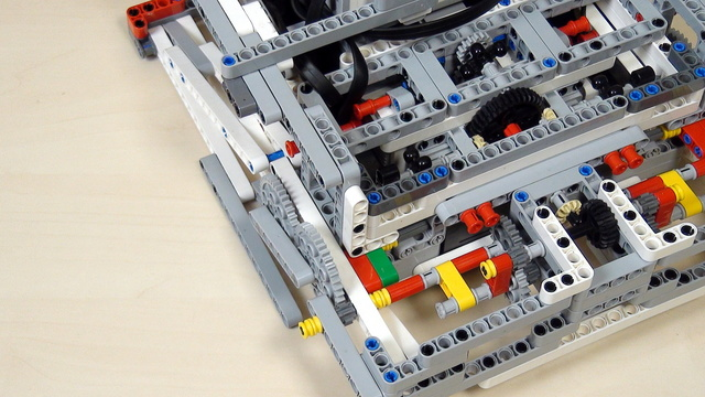 Image for Improving FLL Robot Game. Add the Lifting attachment to the robot