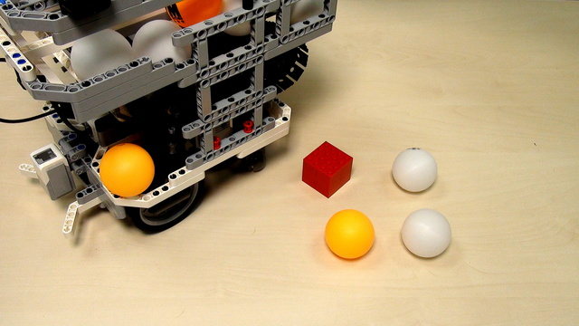 Image for WRO Robot container attachment