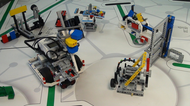 Image for One attachment for Solving FIRST LEGO League 2014 World Class missions - part 2
