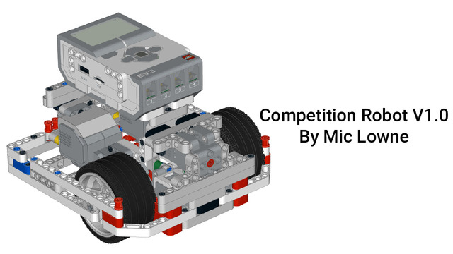 Image for EV3 Competition Robot by Mic Lowne