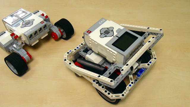 Image for EV3 basics course. Motor programming. Tasks (part 6)