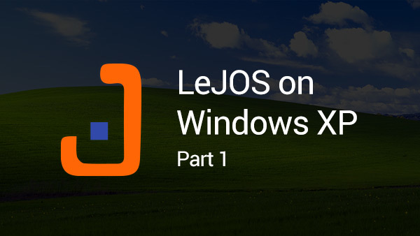Image for Starting leJOS USB transfer sample on Windows XP (Part 1)