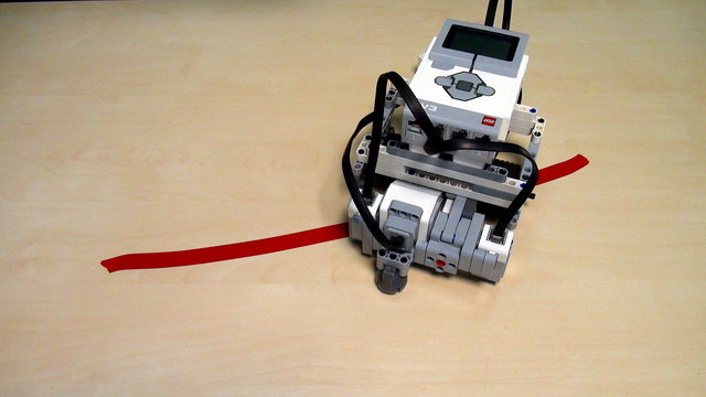EV3 Robot with Motors in Opposite Directions. The Frankenstein. Part 1